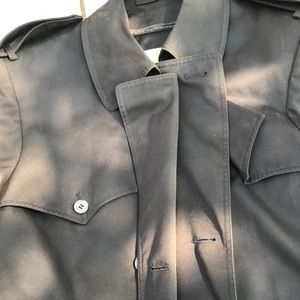 Other - Men's lined trench coat